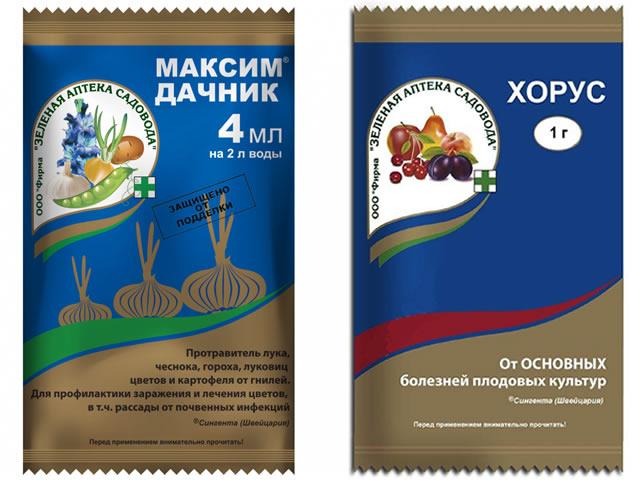 Приготовление препарата Свитч из Хорус и Максим дачник